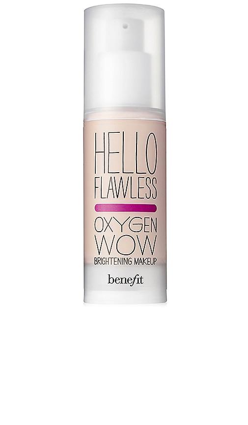 HELLO FLAWLESS! OXYGEN WOW LIQUID FOUNDATION