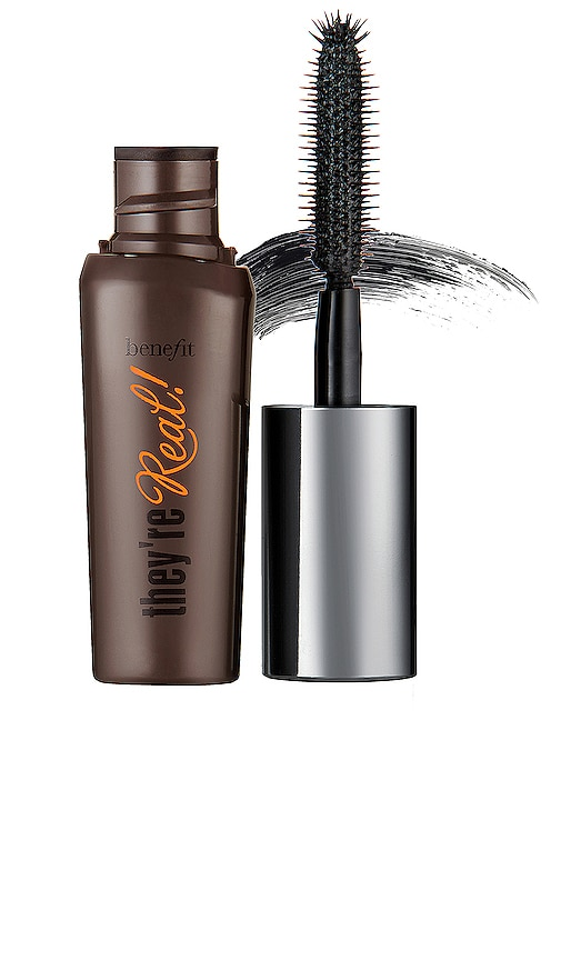 8417ff90123 Benefit Cosmetics Mini They're Real! Lengthening Mascara in Black ...