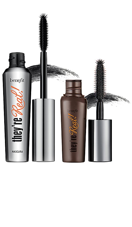 Real Big Steal They're Real! Lengthening Mascara Duo