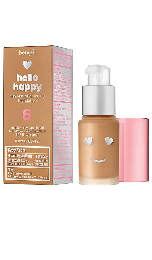 Mini Hello Happy Flawless Brightening Liquid Foundation