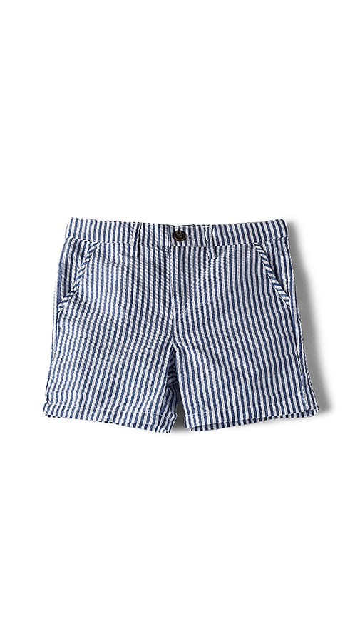 Bardot Junior Seersucker Short in Blue