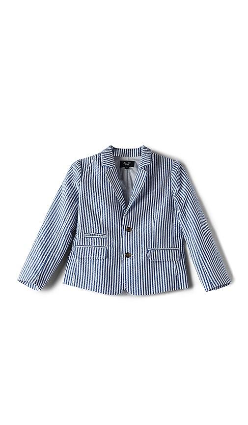 Bardot Junior Seersucker Jacket in Blue