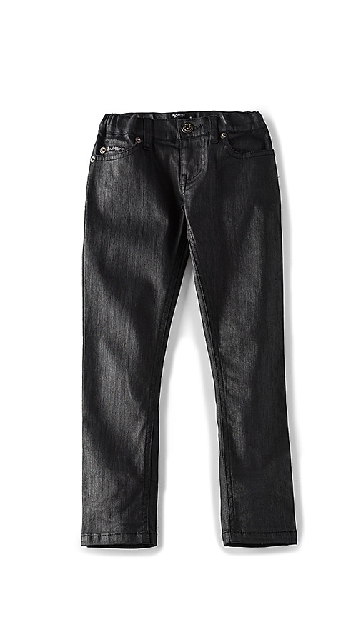 Bardot Junior New Coated Skinny Pant in Black