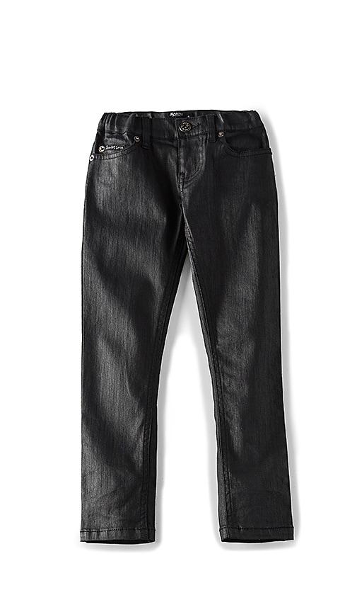 Bardot Junior New Coated Skinny Pant in Black