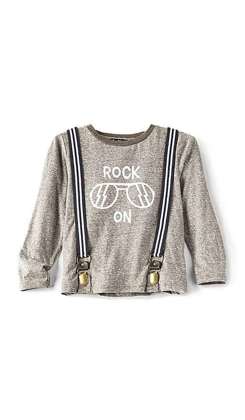 Bardot Junior Rock On Tee in Gray