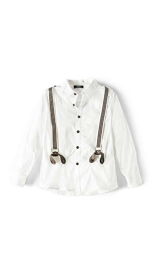 Bardot Junior Braces Shirt in White