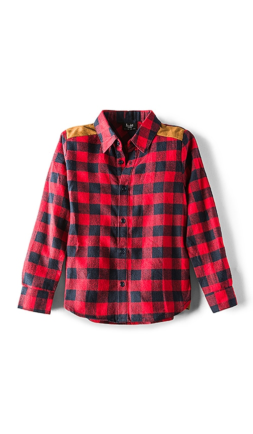 Bardot Junior Lumberjack Shirt in Red
