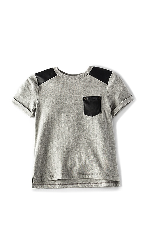 Bardot Junior Moto Tee in Gray