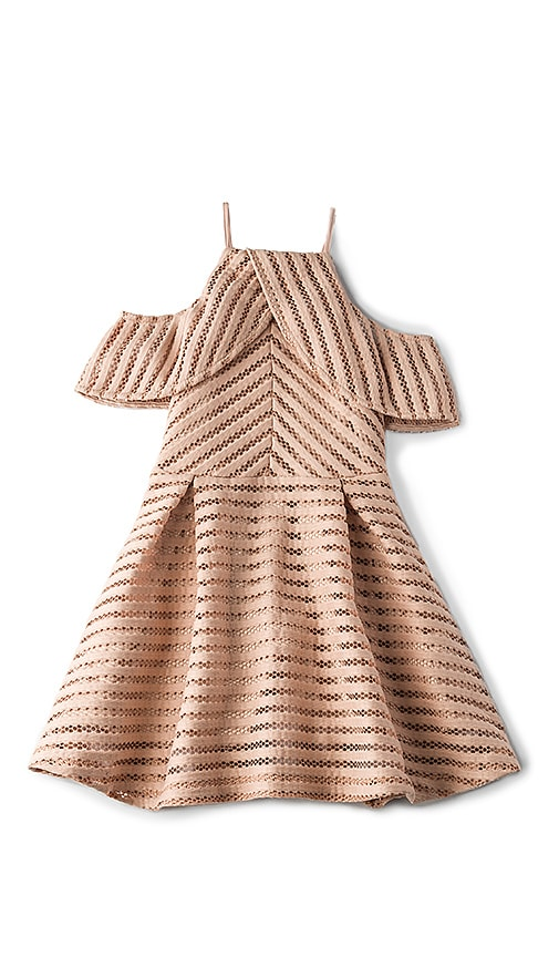 Drape Vertical Limits Dress