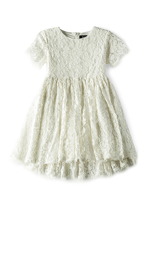 Bardot Junior Sienna Bell Dress in White