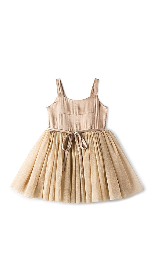 Bardot Junior Goldie Tutu Dress in Tan