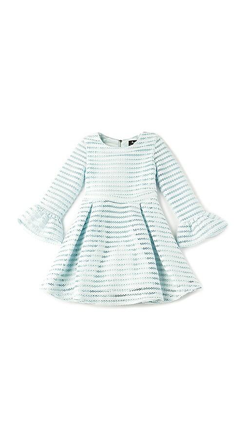 Bardot Junior Vertical Limits Dress in Blue