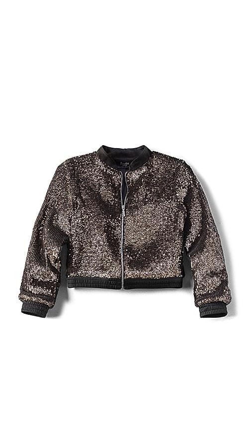 Bardot Junior Sequin Jacket in Metallic Gold