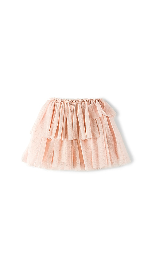 Bardot Junior Pleated Skirt in Blush