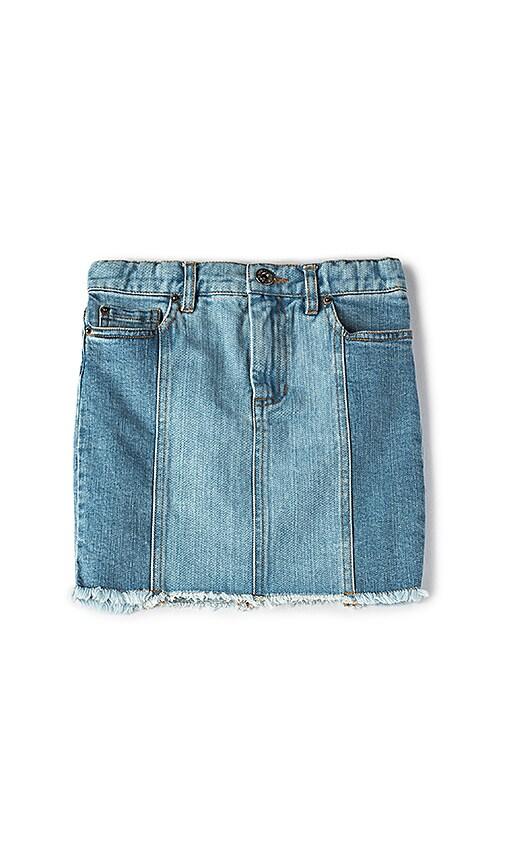 Bardot Junior Cara Spliced Skirt in Marisol Blue
