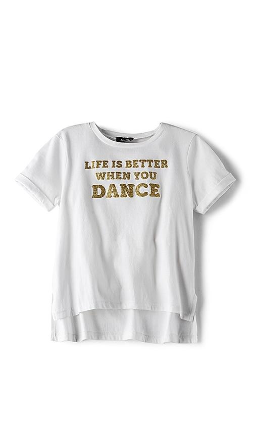 Bardot Junior Dance Tee in White