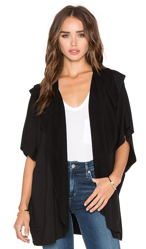 Beautiful People Draped Cardigan in Black
