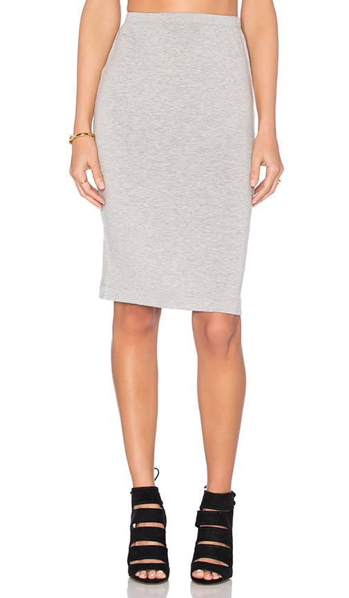 Beautiful People Pencil Skirt in Gray