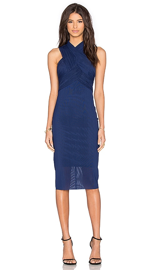 BEC&BRIDGE Midnight Midi Dress in Navy