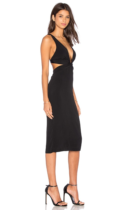 BEC&BRIDGE Mystical Twist Dress in Black