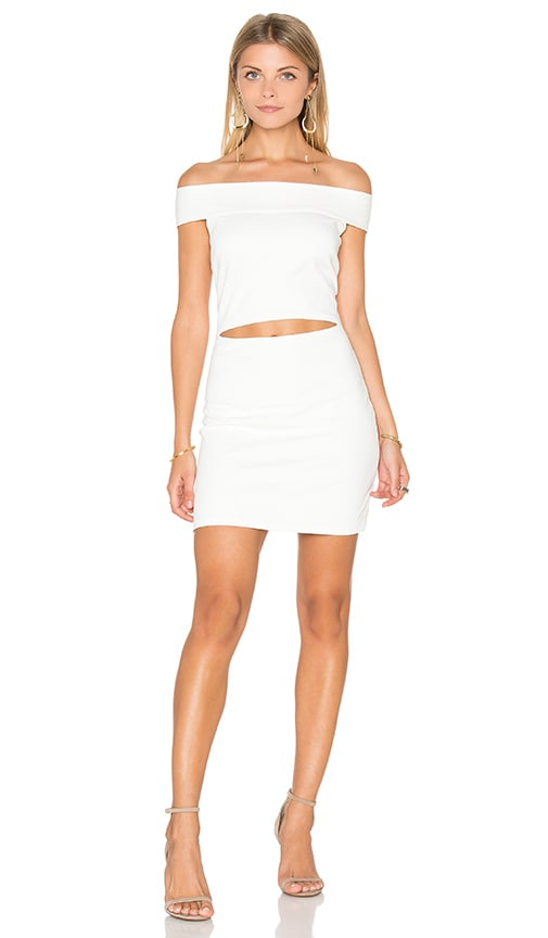 BEC&BRIDGE Georgia Mini Dress in Ivory