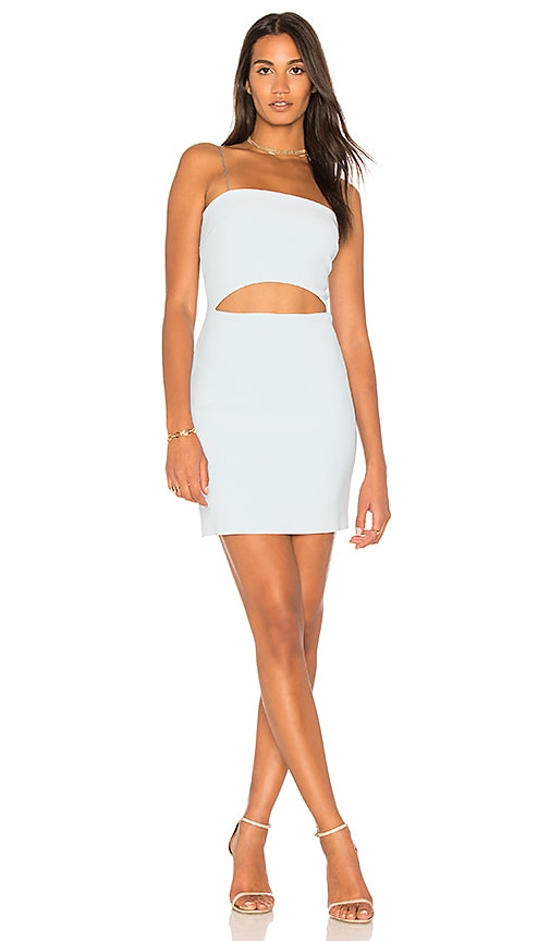 BEC&BRIDGE Luella Mini Dress in Baby Blue