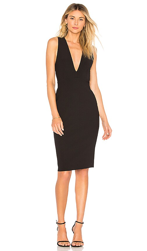 New BEC&BRIDGE Celia Plunge Dress in Black supplier