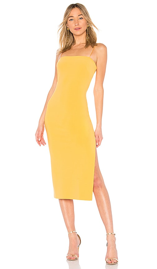 BEC&BRIDGE Macaron Midi Dress in Tangerine