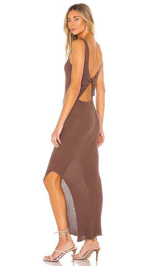 BEC&BRIDGE; Riviera Knit Midi Dress in Cedar | REVOLVE