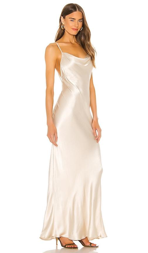 Bec + Bridge Frederic Dress in Oyster White
