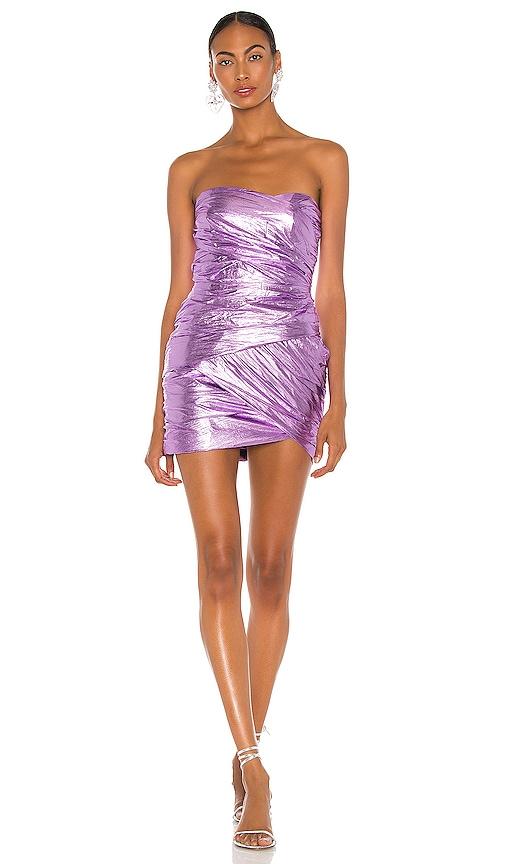 BEC&BRIDGE; Metal Maniac Mini Dress in Fairy Floss | REVOLVE