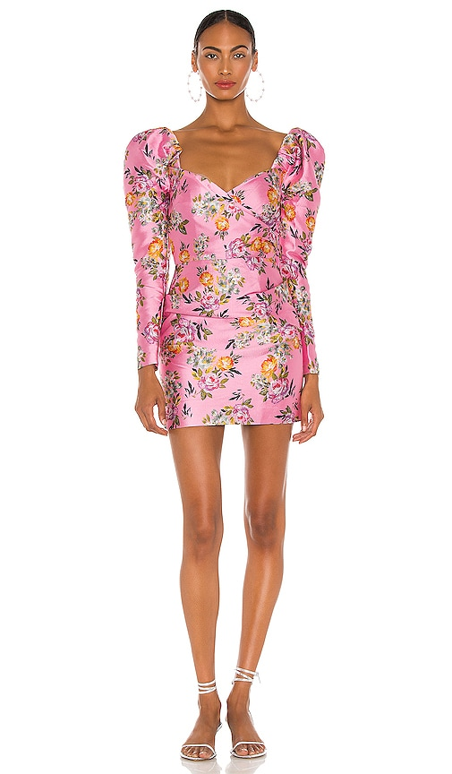 BEC&BRIDGE; Peony Party Mini Dress in Print | REVOLVE