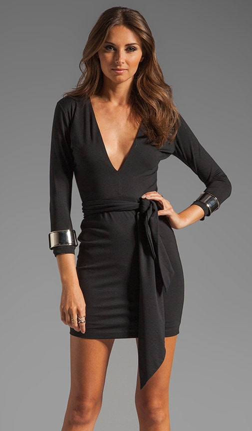 Jaguar Long Sleeve Cuff Dress