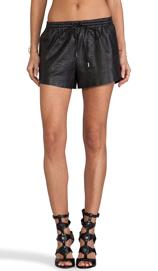 Bravery Leather Short