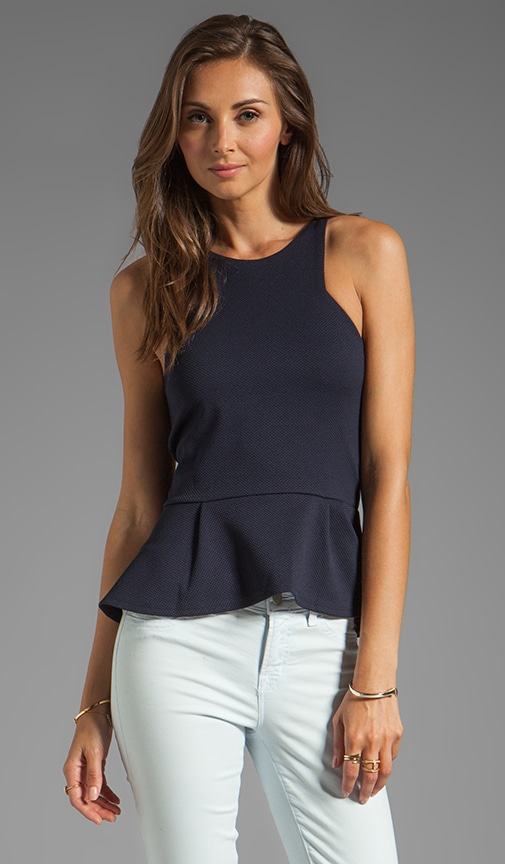Abella Peplum Top