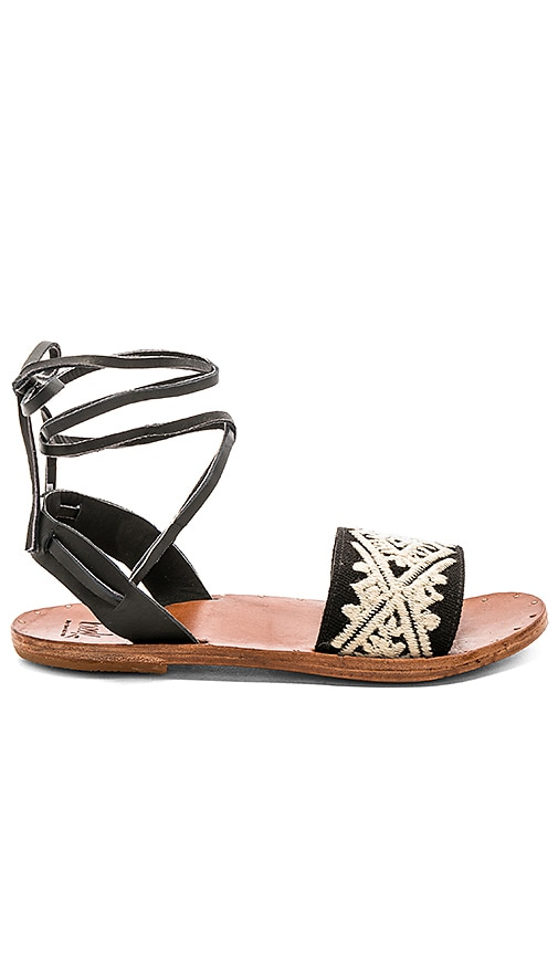 Beek Toucan Sandal in Black