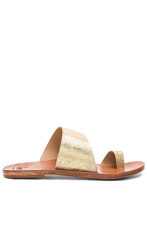 Beek Finch Sandal in Metallic Gold