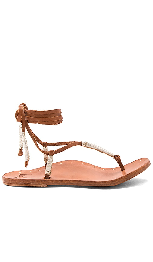 Beek The Crane Sandal in Cognac