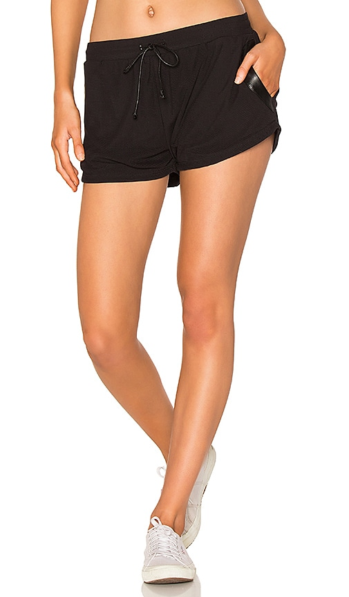 BELOFORTE Charlize Mesh Short in Black