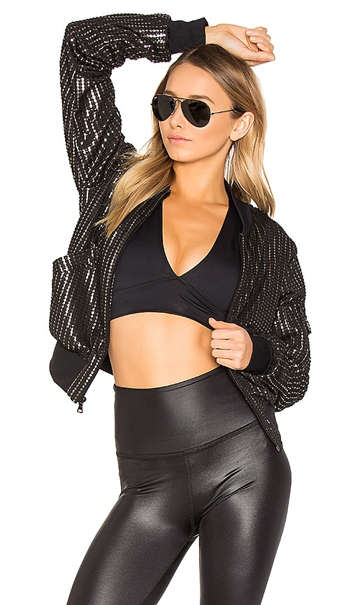 BELOFORTE Bomber Jacket in Black