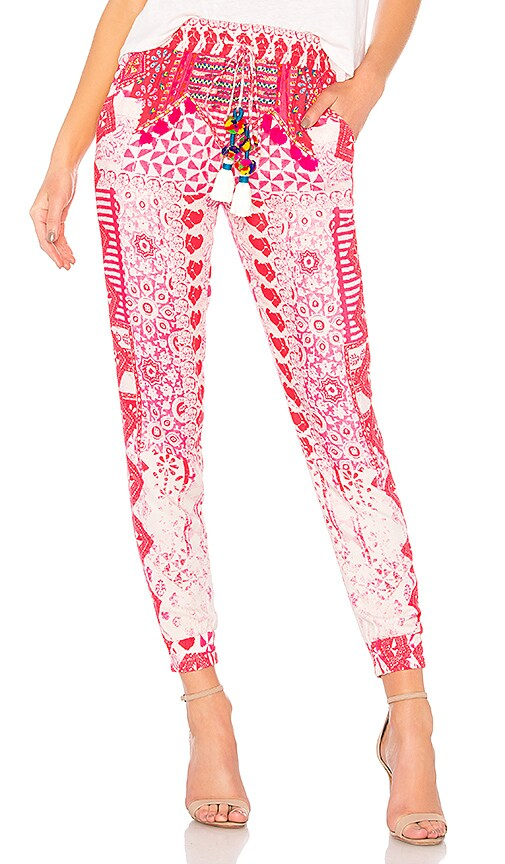 HEMANT AND NANDITA Esoteric Pants in Pink