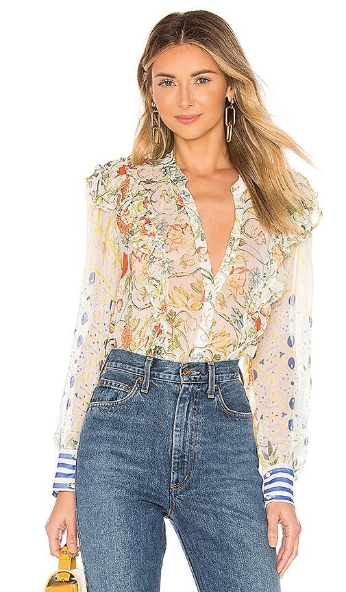 Crinkle Chiffon Shirt