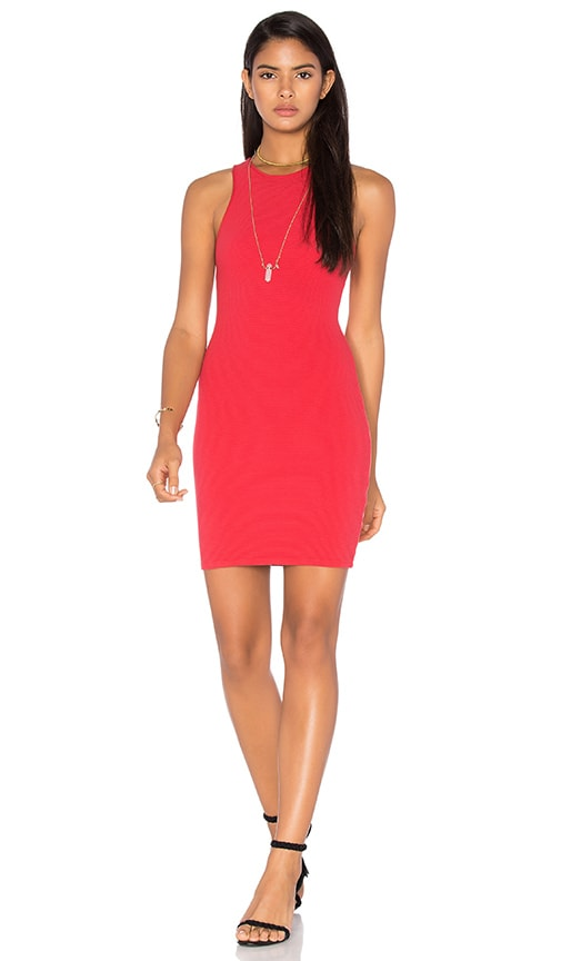 Benjamin Jay Katrina Mini Dress in Red