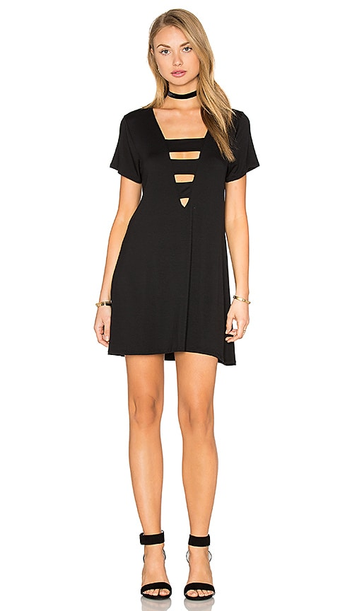 Benjamin Jay Cori Shirtdress in Black