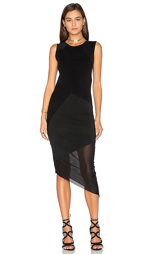 Benjamin Jay Ezra Dress in Black