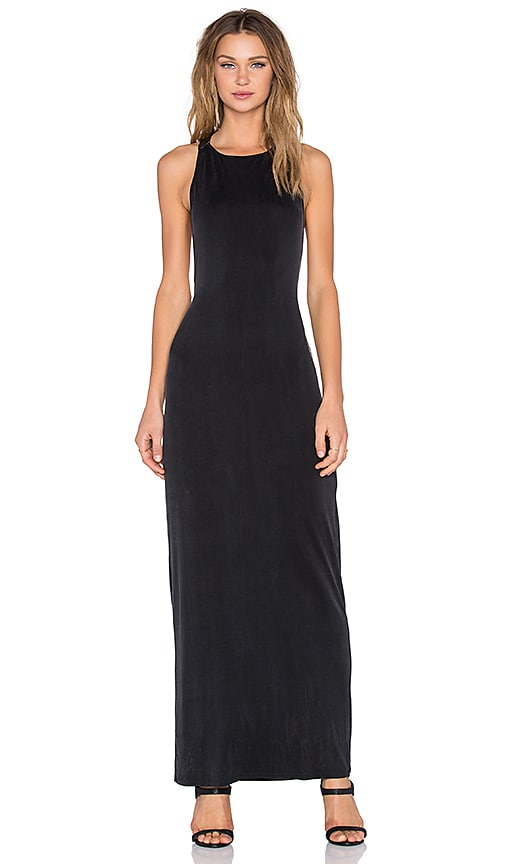 Benjamin Jay Cleopatra Tank Dress in Black