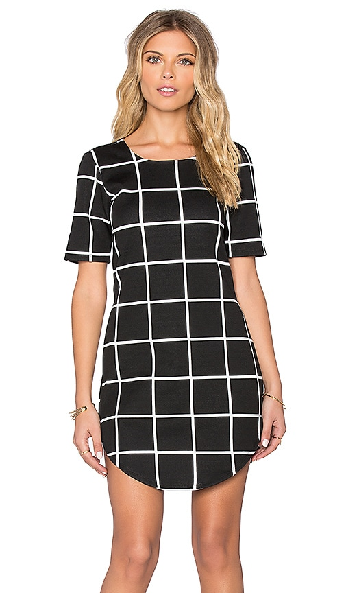 Benjamin Jay Michelle Dress in Black