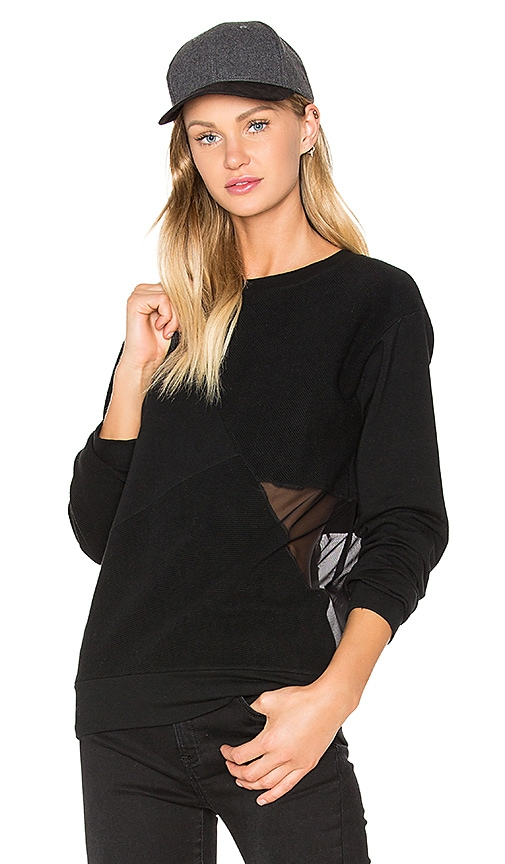 Benjamin Jay Dela Sweater in Black
