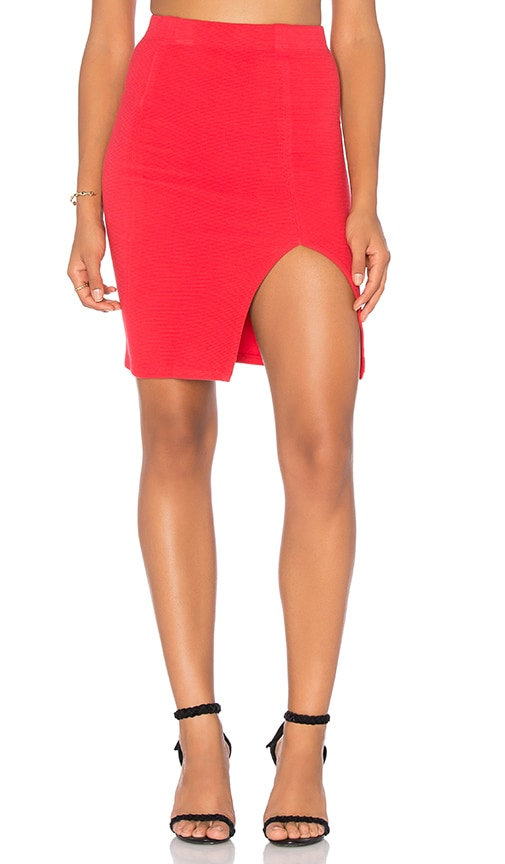 Benjamin Jay Emily Skirt in Red