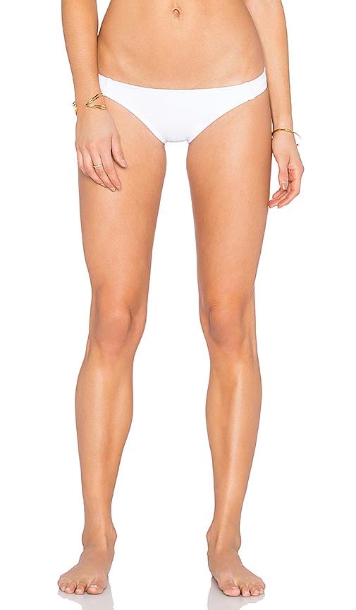 Beth Richards Barely Bikini Bottom in White